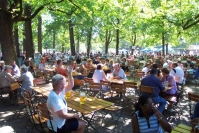 beergarden royal hirschgarten munich picture 2